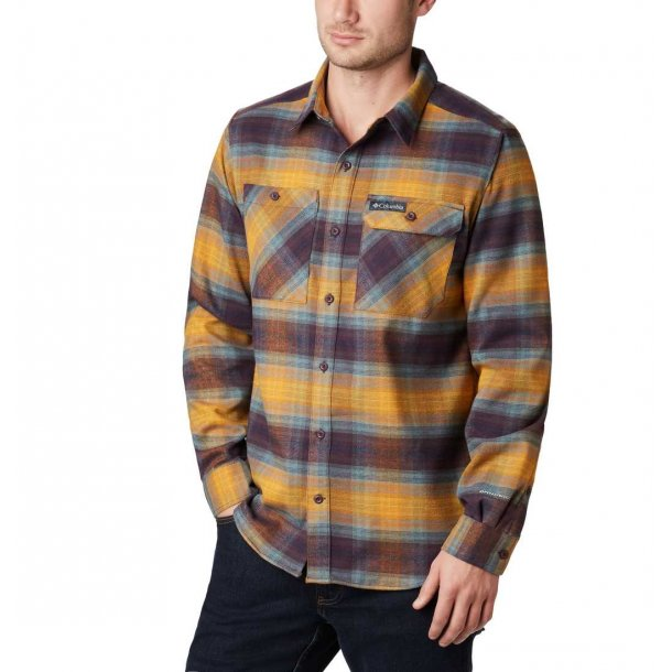 Columbia Outdoor Elements Flannel herreskjorte med stretch